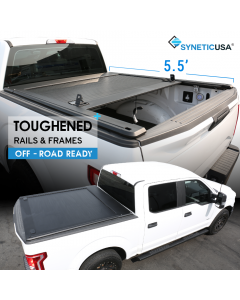 2007-2020 Toyota Tundra 5.5ft Short Bed Waterproof Retractable Hard Tonneau Truck Cover
