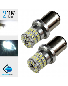 1157 High Power 3014 Chip Xenon White 6000K 48 SMD LED Bulb