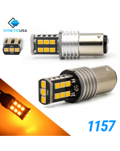 1157 1400 Lumen Extreme High Power Amber Yellow LED bulbs