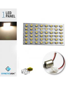 T10/1156 3528 LED Panel Super Bright 48-SMD LED Bulbs (Warm White)