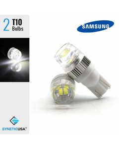 High Power T10/194 Samsung 5630 Chip Xenon White LED Light Bulbs