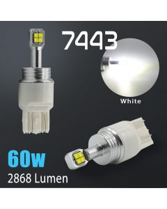 7440/7443 CREE LED Chip 2800 Lumen Extreme High Power 6000K White LED bulbs