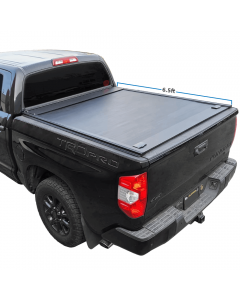 2007-2020 Tundra 6.5ft Bed Aluminum Retractable-Roll-Up Hard Tonneau Cover