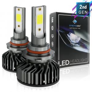 9005 HB3 6000K White COB LED Headlight Conversion Kit High/Low Beam Light Bulb 5000lm