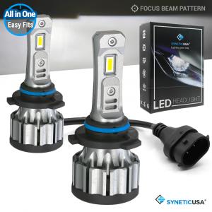 9005 HB3 All-in-One 3570 CSP LED Headlight Kit Fog Light Bulbs 6000K White
