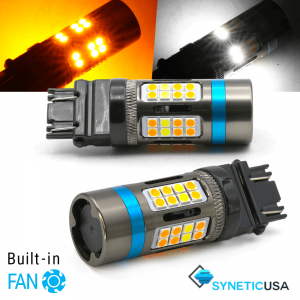 All-In-1 CANBUS Error Free 3157 (Standard/CK) LED Type 1 Switchback Bulbs