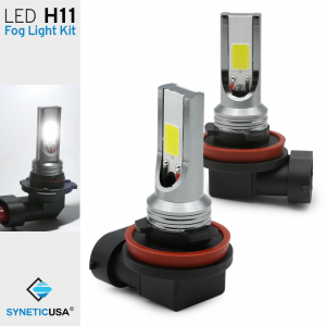 All-in-One H11 (H8 H9) High Power COB LED Fog Light Driving Lamp Bulbs
