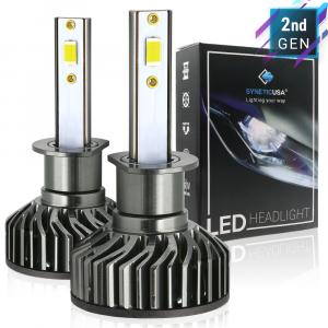H1 CREE LED White Headlight Kit High Beam Light Bulbs High Power CSP 6000lm