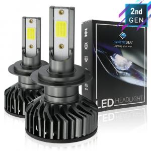 H7 CREE COB LED White Headlight Kit High Beam Light Bulbs High Power 5000lm