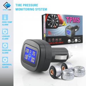 Tire Pressure Monitoring System/TPMS - CLA Charging Method, 4 Grey Sensors