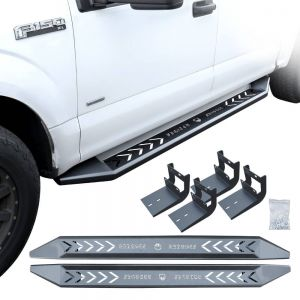 [Local Pickup] Iron Steel Matte Black Colored Step Bar for 2015-2020 F150 5.5ft Short Bed