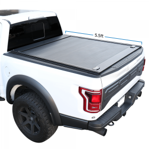 2004-2020 Ford F-150 5.5ft Bed Retractable-Roll-up Hard Tonneau Truck Cover