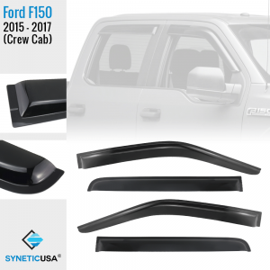 A picture of 2015-2017 F150 Crew Cab Window Visor