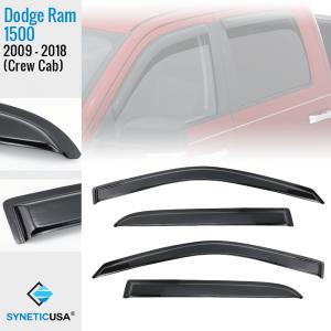 dodge ram 1500 crew cab window visors