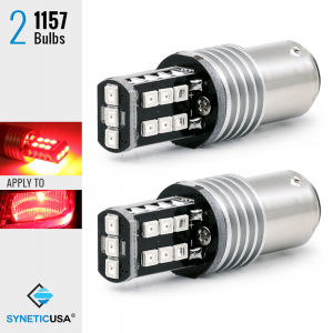 1157 240 Lumen 3535 Chip Extreme High Power Bright Red LED bulbs