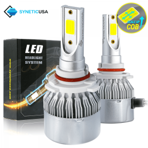 9005 COB 6000K High Power All-in-One LED Headlight Fog Lamp Bulbs