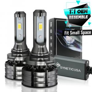 9006 HB4 CSP LED Headlight Conversion Kit 120W Fog Light Low Beam 6000K White Light Bulbs