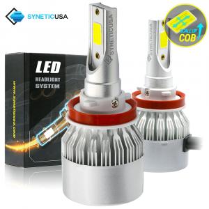 H11/H9/H8 CREE 120W High Low Beam 6000K LED Headlight Conversion Kit Fog Light