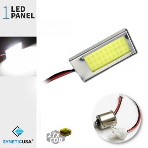 T10 / 1156 COB Led Panel Super Bright 27-SMD White LED bulbs
