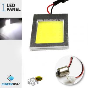 T10 / 1156 COB Led Panel Super Bright 48-SMD White LED bulbs