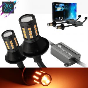 7443 Standard/SRCK LED Error Free Canbus Amber Light Bulbs