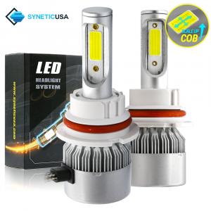 9007 HB5 LED All-in-One Headlight Bulbs 120W COB Conversion Kit
