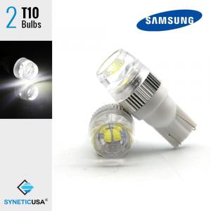 High Power T10/194 Samsung 5630 Chip Xenon White LED Light Bulbs