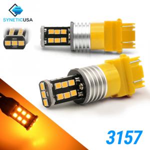 3535 3157 1400 Lumen Extreme High Power Amber Yellow LED bulbs