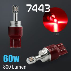 7440/7443 CREE LED Chip Extreme High Power Brilliant Red LED bulbs