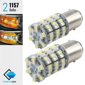 1157 60-LED Dual Color Type 1 Switchback LED Bulbs