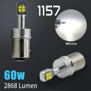 1157 High Power 6000K White CREE 60 Watt SMD LED Bulb
