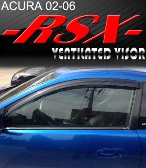 2002-2006 Acura RSX Vent Visors