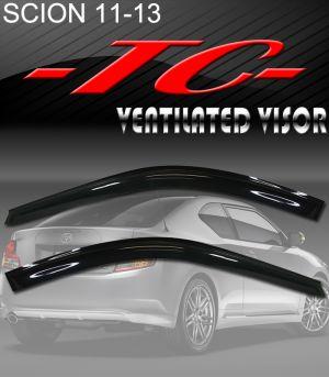 2011-2014 Scion tC Vent Visors